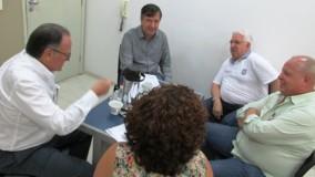 Ronaldo Vasconcellos recebe convidados para debater Força-Tarefa das barragens