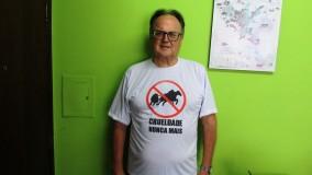 Ronaldo Vasconcellos participa de movimento em defesa dos animais