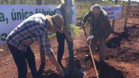 Secretário participa de plantio de mudas no Parque do Rola Moça