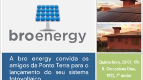 Lançamento sistema fotovoltaico