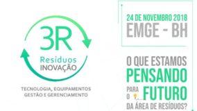 Belo Horizonte recebe a segunda edição do 3R Resíduos