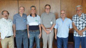 Ronaldo Vasconcellos visita presidente do CREA-MG