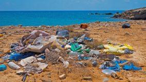 Os lixos mais encontrados em praias do Brasil são tampinhas, canudos e bitucas