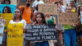 Jovens de BH alertam população e poder público para crise climática