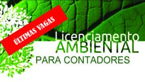 Últimas vagas para o curso Licenciamento Ambiental Simplificado para Contadores