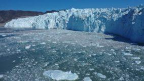Derretimento de gelo na Groenlândia bate recorde
