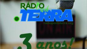 Rádio Web Ponto Terra completa 3 anos