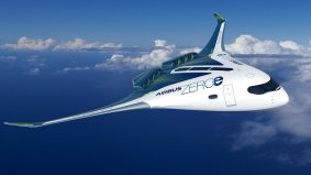 Airbus revela conceitos de aeronave zero carbono