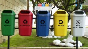 Taxa de reciclagem cresce 141% com lixeiras bem posicionadas